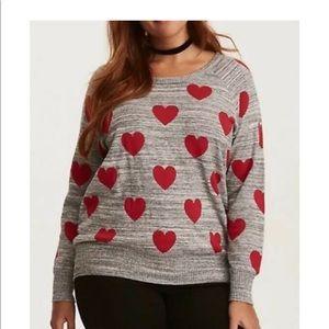 Torrid sweater reversible